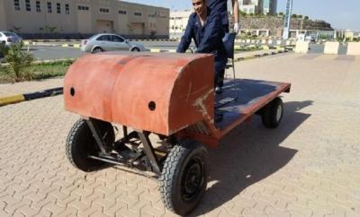 مركبة تعمل بالطاقة الشمسية3