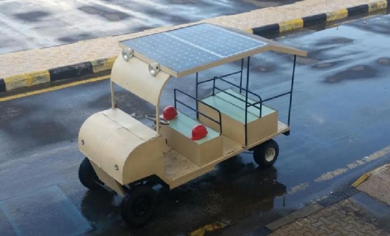 مركبة تعمل بالطاقة الشمسية5