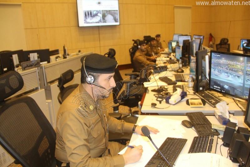 مركز القيادة والسيطرة بمبنى الأمن العام (10)
