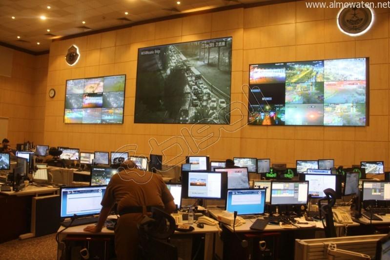 مركز القيادة والسيطرة بمبنى الأمن العام (13)