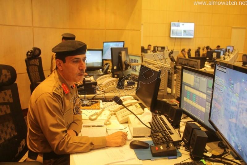 مركز القيادة والسيطرة بمبنى الأمن العام (18)