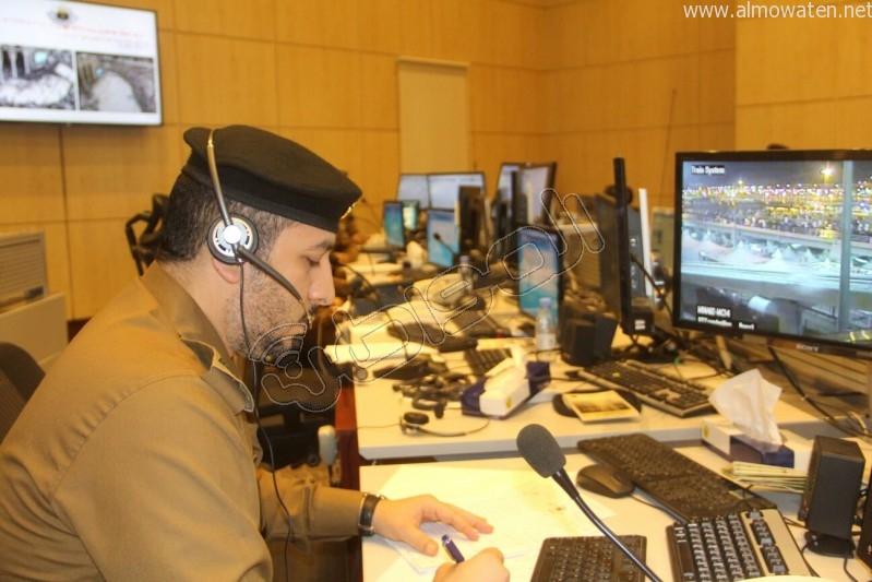 مركز القيادة والسيطرة بمبنى الأمن العام (2)