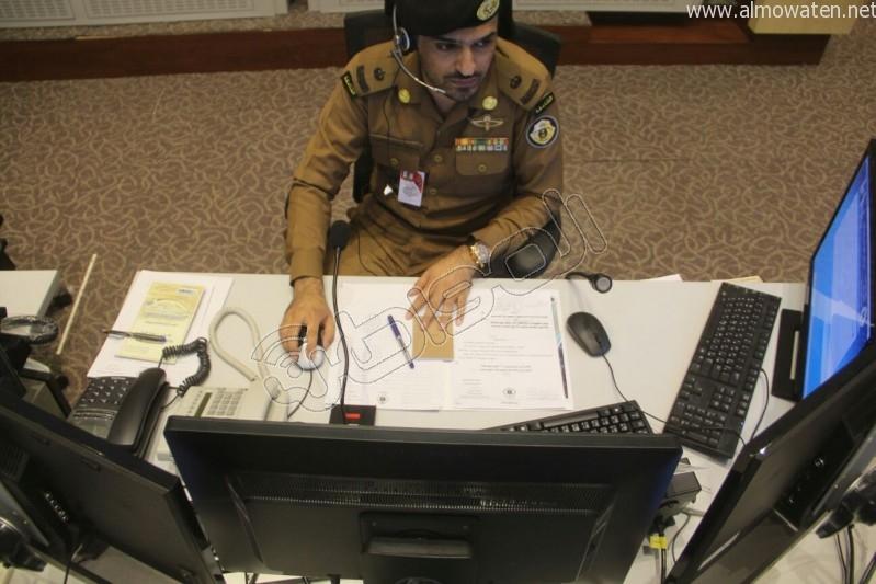 مركز القيادة والسيطرة بمبنى الأمن العام (21)