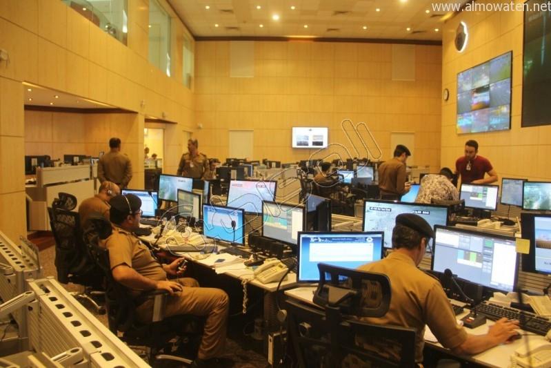 مركز القيادة والسيطرة بمبنى الأمن العام (22)