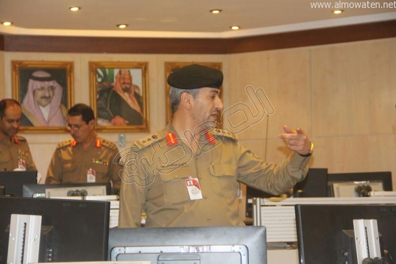 مركز القيادة والسيطرة بمبنى الأمن العام (23)