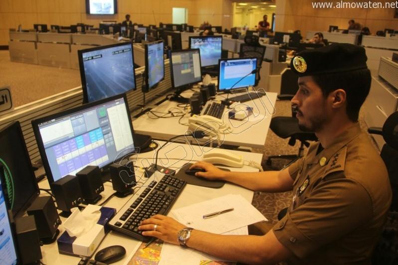 مركز القيادة والسيطرة بمبنى الأمن العام (24)