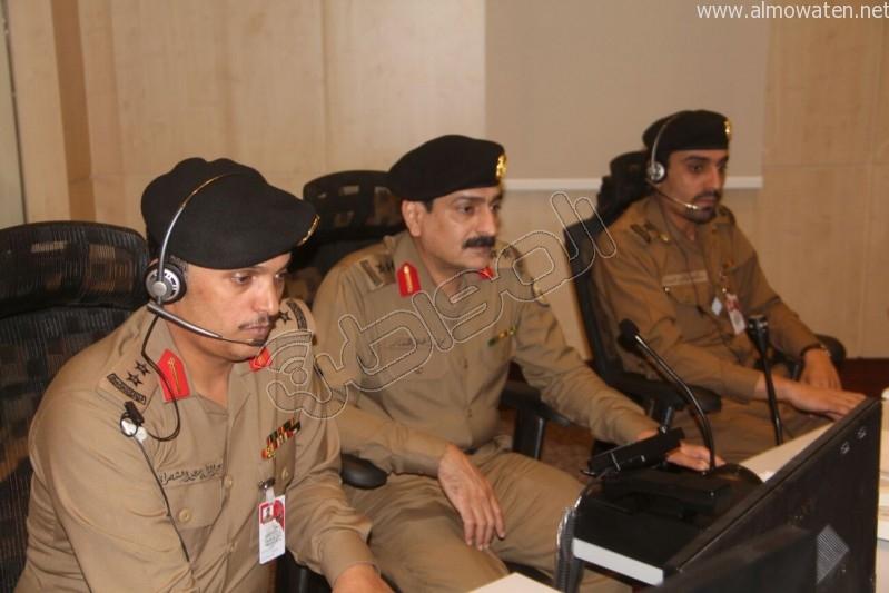 مركز القيادة والسيطرة بمبنى الأمن العام (25)