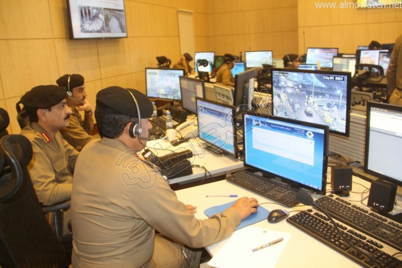 مركز القيادة والسيطرة بمبنى الأمن العام (26)