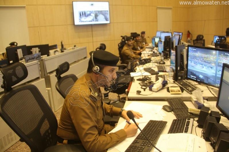مركز القيادة والسيطرة بمبنى الأمن العام (29)