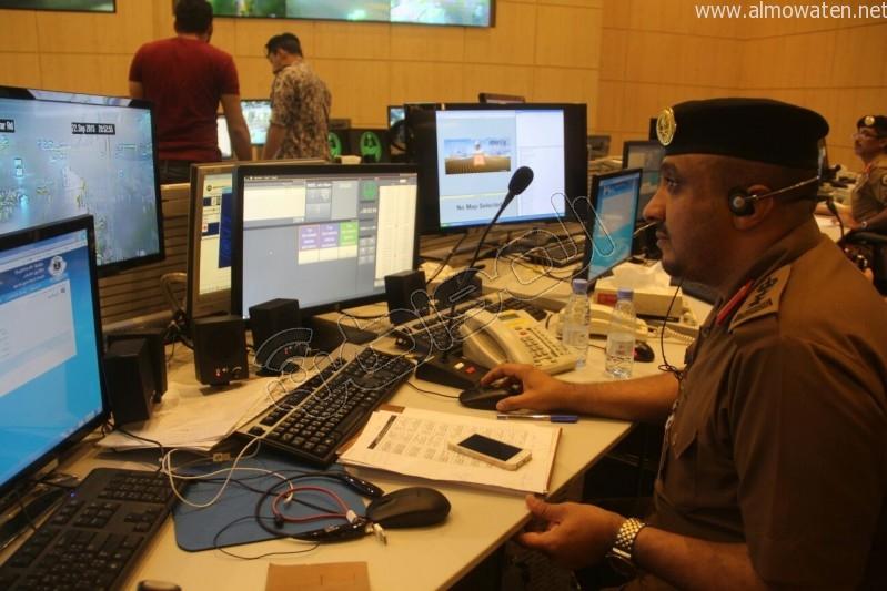 مركز القيادة والسيطرة بمبنى الأمن العام (32)