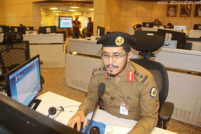 مركز القيادة والسيطرة بمبنى الأمن العام (33)