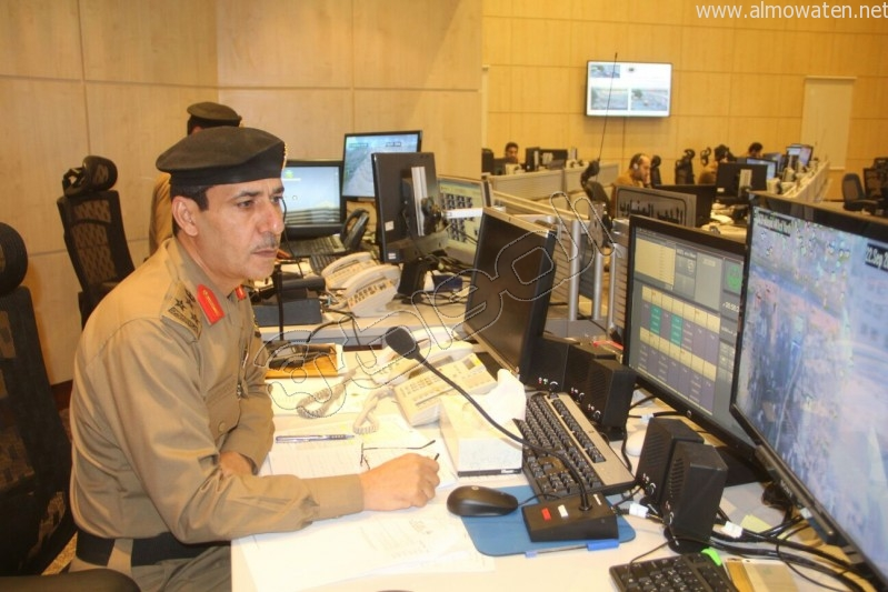 مركز القيادة والسيطرة بمبنى الأمن العام (34)