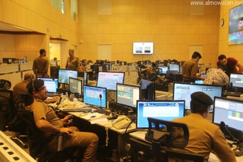 مركز القيادة والسيطرة بمبنى الأمن العام (38)