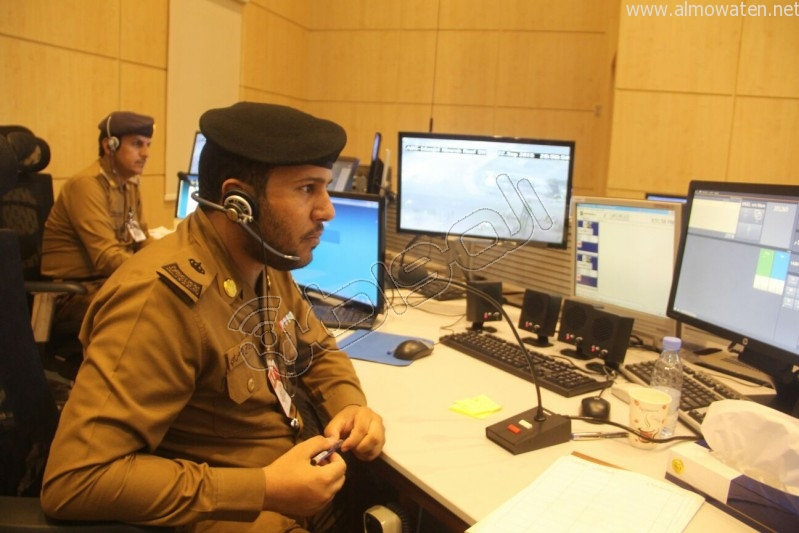 مركز القيادة والسيطرة بمبنى الأمن العام (39)