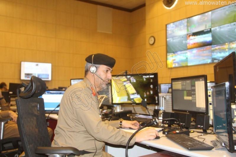 مركز القيادة والسيطرة بمبنى الأمن العام (40)