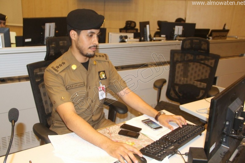 مركز القيادة والسيطرة بمبنى الأمن العام (41)