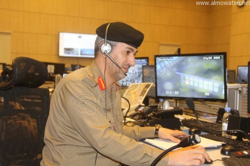 مركز القيادة والسيطرة بمبنى الأمن العام (42)