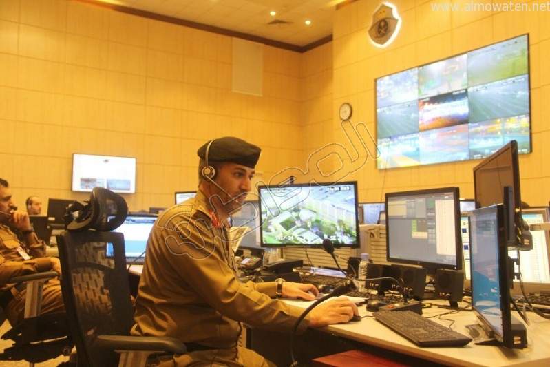 مركز القيادة والسيطرة بمبنى الأمن العام (43)