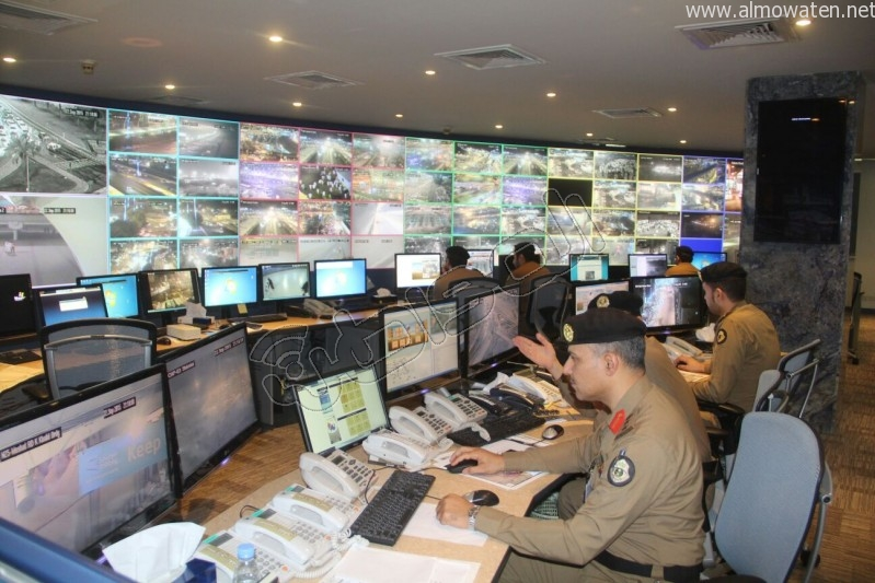 مركز القيادة والسيطرة بمبنى الأمن العام (61)