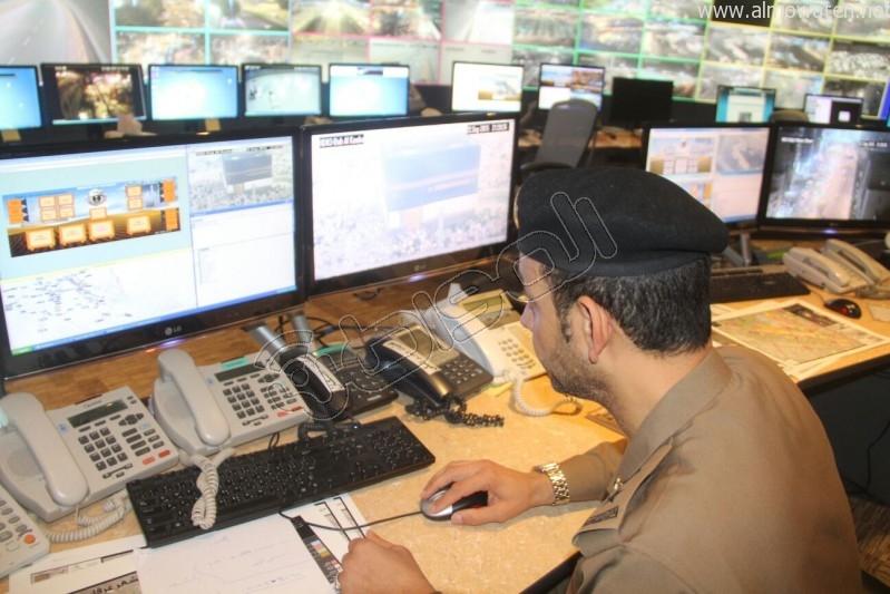مركز القيادة والسيطرة بمبنى الأمن العام (62)