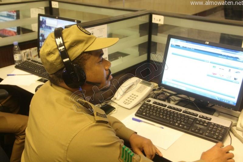 مركز القيادة والسيطرة بمبنى الأمن العام (7)