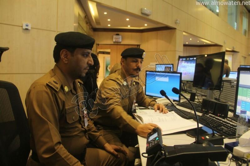 مركز القيادة والسيطرة بمبنى الأمن العام (8)