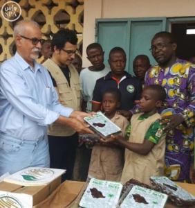مركز الملك سلمان للإغاثة يقدم 72 طنًا من التمور لبرنامج الأغذية العالمي4
