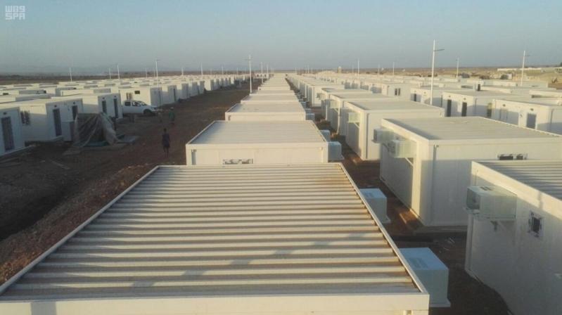 بالصور.. مركز الملك سلمان للإغاثة ينهي بناء 255 وحدة للاجئي اليمن في جيبوتي