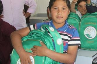 توزيع 3135 حقيبة مدرسية على طلاب سوريا في لبنان - المواطن