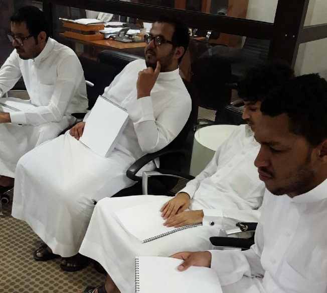 مركز الملك عبد العزيز للحوار الوطني يعقد برنامج تدريبي للمكفوفين (1)