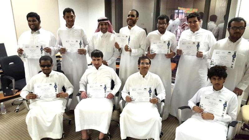 مركز الملك عبد العزيز للحوار الوطني يعقد برنامج تدريبي للمكفوفين (4)