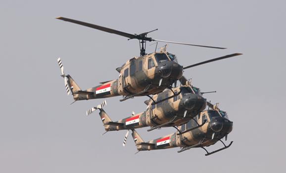 طائرة مروحية عراقية