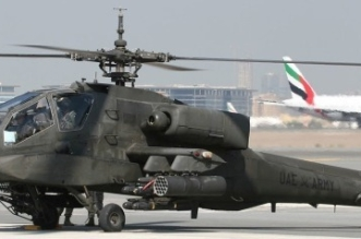 تحطم مروحية عسكرية إماراتية ووفاة الطيار ومساعده - المواطن