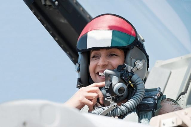 #مريم_المنصوري .. صواريخها تحرق #الحوثيين وتُشعل #تويتر - المواطن