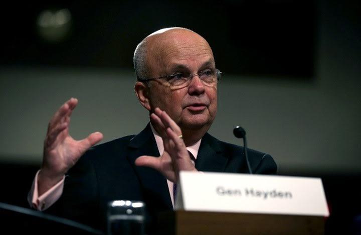 رئيس وكالة الاستخبارات الأمريكية السابق مايكل هايدن