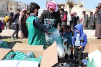 بالصور.. مساعدات مركز الملك سلمان الغذائية والإيوائية تصل ريف حلب - المواطن