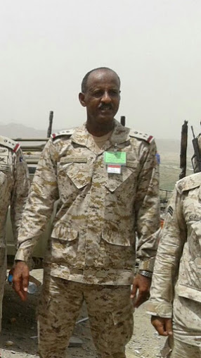 مساعد قائد اللواء الثامن بجازان العميد ركن إبراهيم عمر إبراهيم حمزي