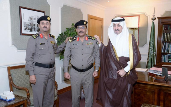 مساعد مدير شرطة محافظة الإحساء العميد فهد بن زيد المطيري