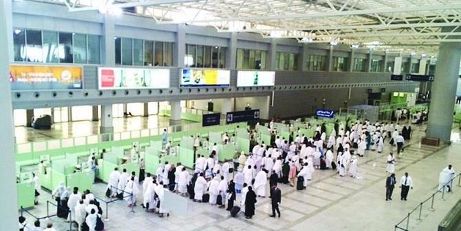 بدء رحلات مغادرة ضيوف الرحمن من مطار الملك عبدالعزيز الدولي