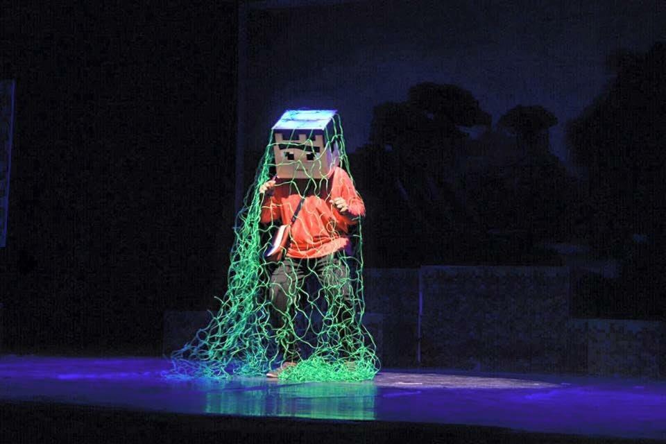 مسرحية جديدة لنجوم وأطفال وارف بالهفوف (1)