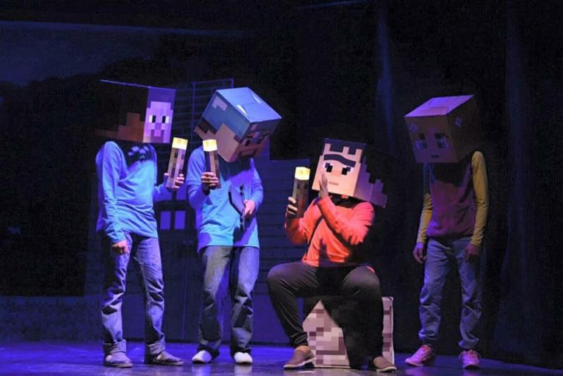 مسرحية جديدة لنجوم وأطفال وارف بالهفوف (2)