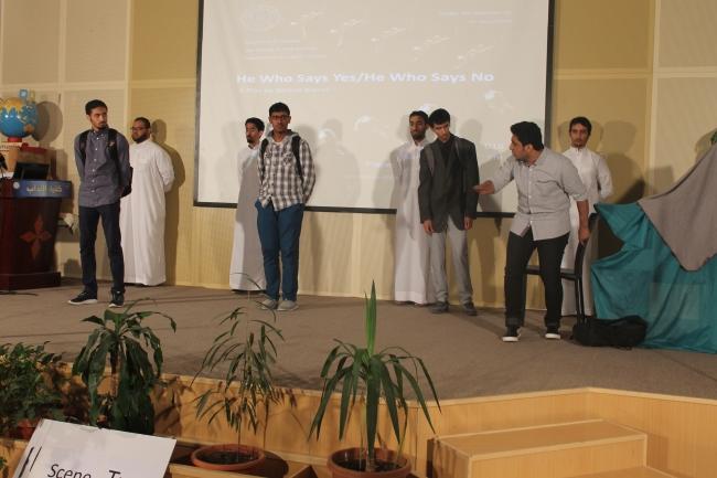 مسرحية طلاب اداب جلمعة الملك فيصل (7)