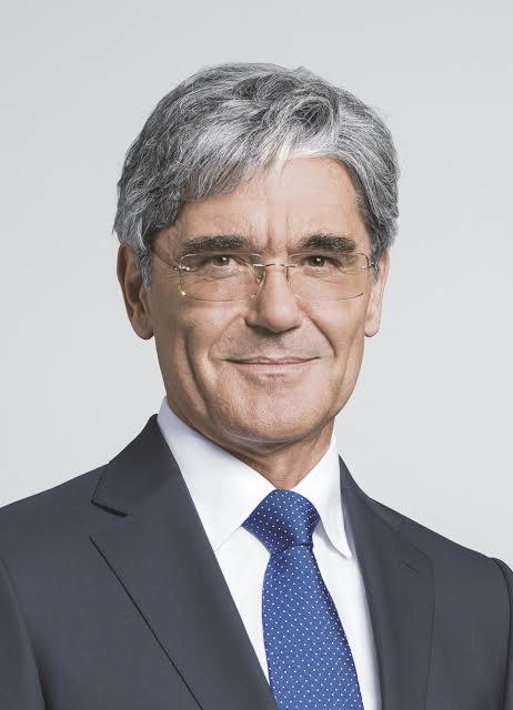 Vorsitzender des Vorstands der Siemens AGPresident and Chief Executive Officer of Siemens AG