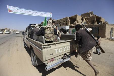 مسلحون من جماعة الحوثيين
