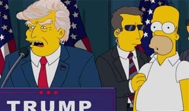 مسلسل كرتون ترامب