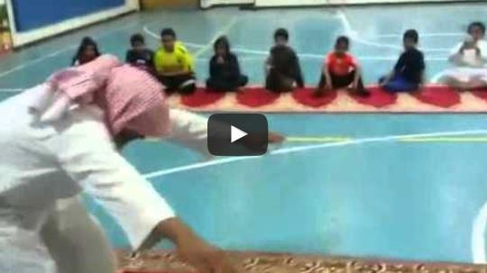 مسن- رياضة - السعودية - سباحة