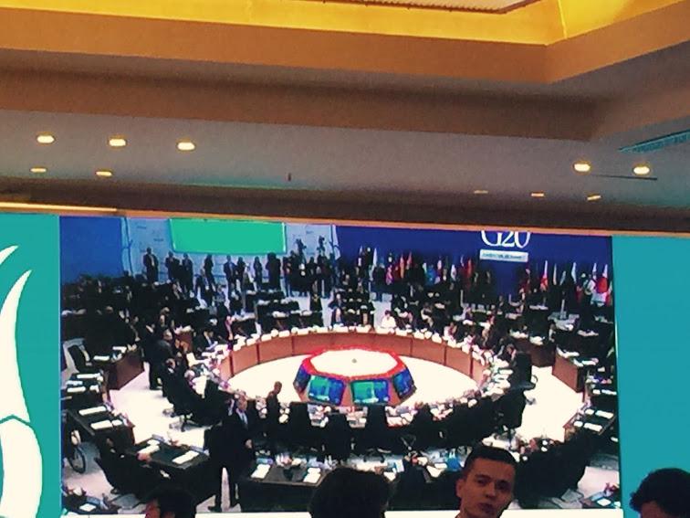 مسودة البيان الختامي لقمة زعماء دول العشرين