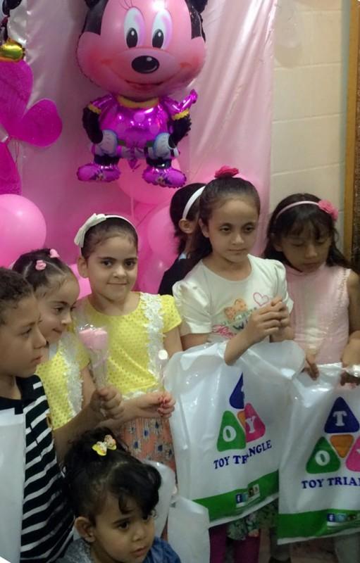 مشاركة أطفال مكة المكرمة ببصمة الإبداع في حملة التوعية بسرطان الثدي -3