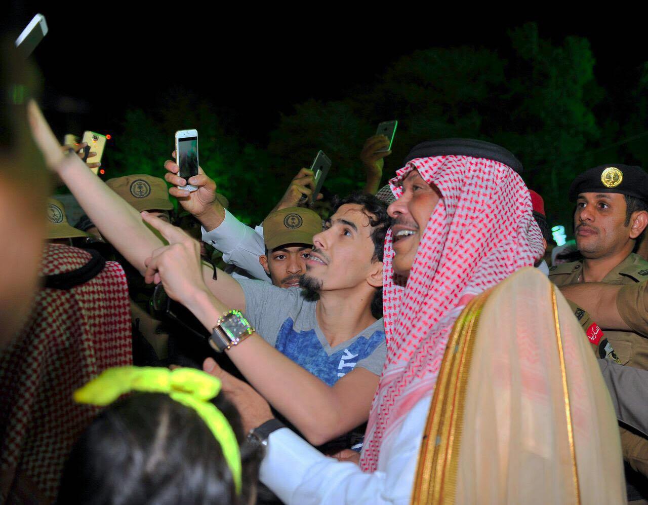 مشاري بن سعود يدشن مهرجان صيف الباحة