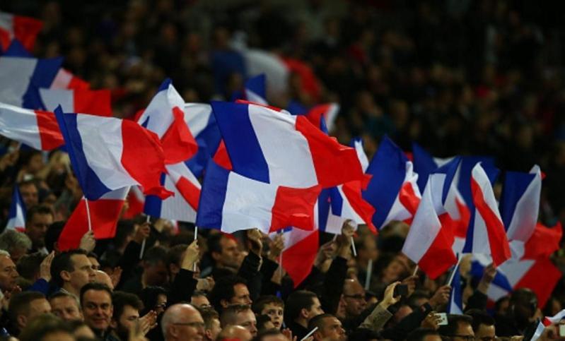 مشجعين منتخب فرنسا